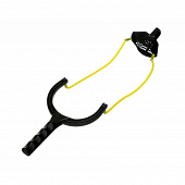 Рогатка для прикормки Flagman Catapult With Yellow Medium Elastic 20 - 35м